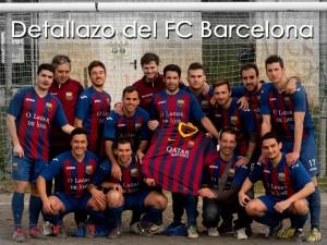 Camiseta dedicada F.C. Barcelona