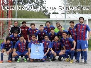 Camiseta dedicada Roque Santa Cruz