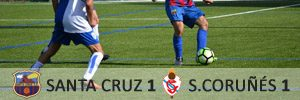 Santa Cruz 1 Sporting Coruñés 1