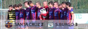 Santa Cruz 2 Sporting Burgo 3