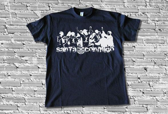 """Camiseta """"Santa Conmigo"""" (2014)"""