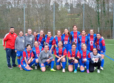 Primer partido equipo Femenino