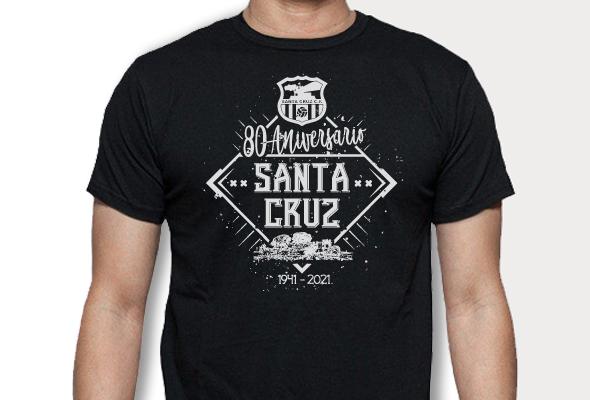 camiseta 80 Aniversario